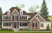 Plan Number 40515 - 3212 Square Feet