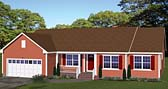 Plan Number 40616 - 1885 Square Feet