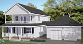 Plan Number 40636 - 2142 Square Feet