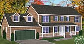 Plan Number 40650 - 2648 Square Feet