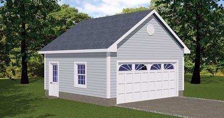 Garage Plan 40654