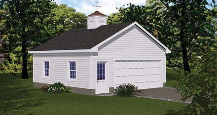Garage Plan 40657