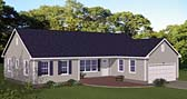 Plan Number 40667 - 1614 Square Feet