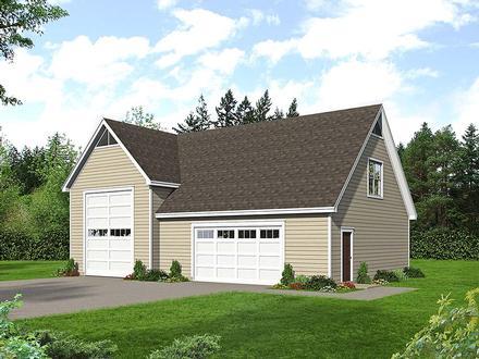 Garage Plan 40803