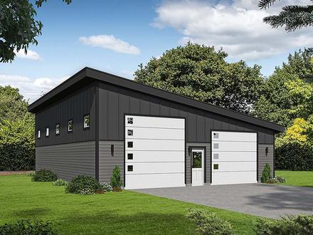Garage Plan 40807