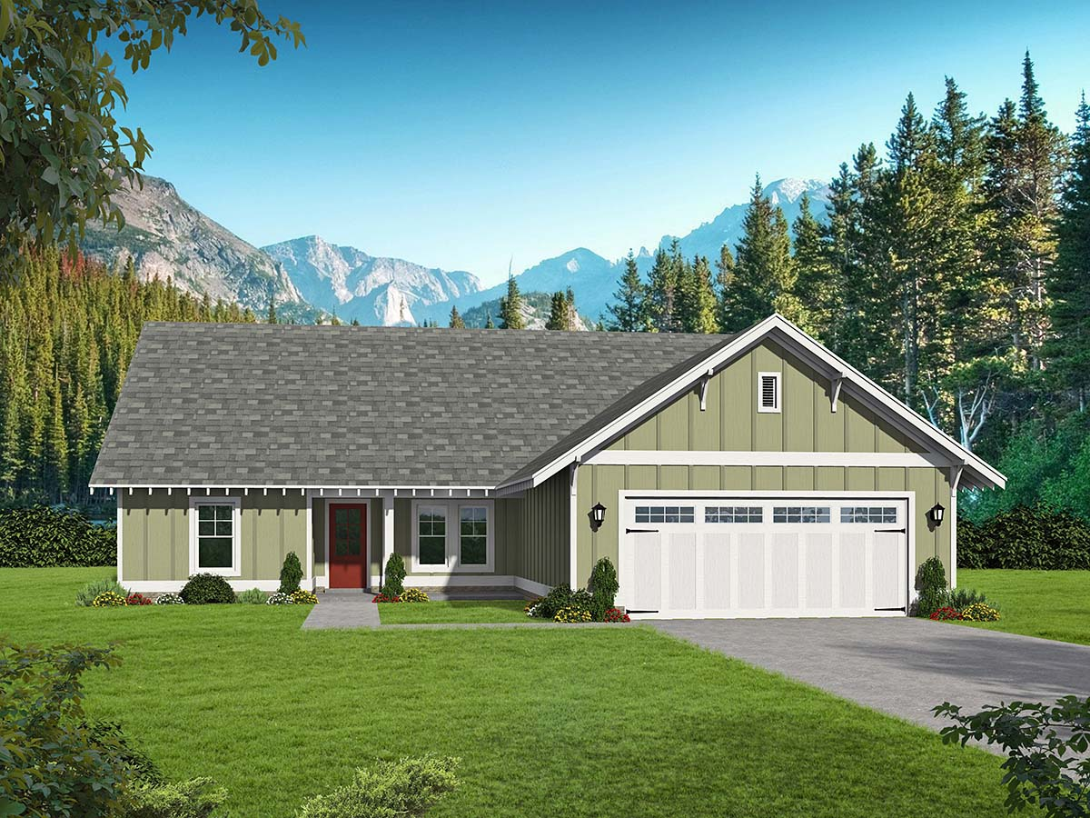 House Plan 40826