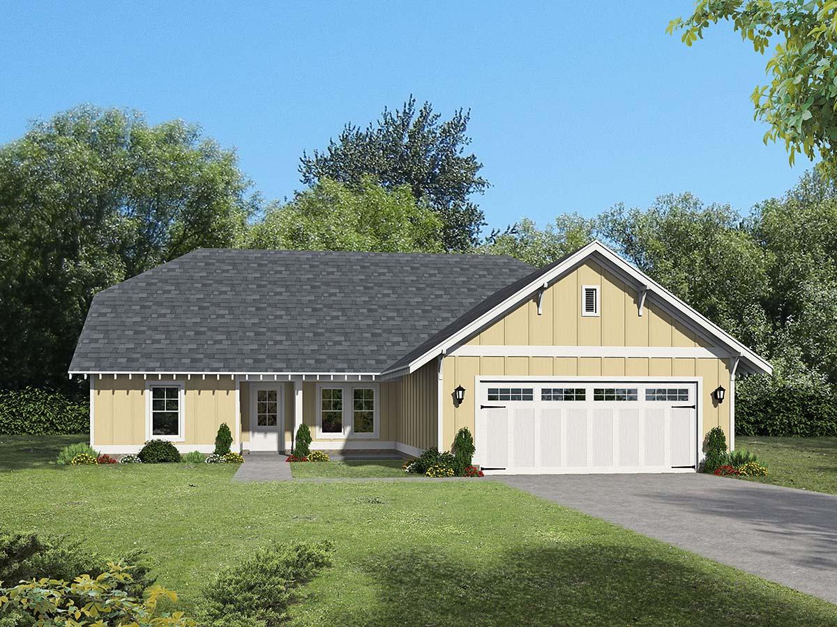 House Plan 40827