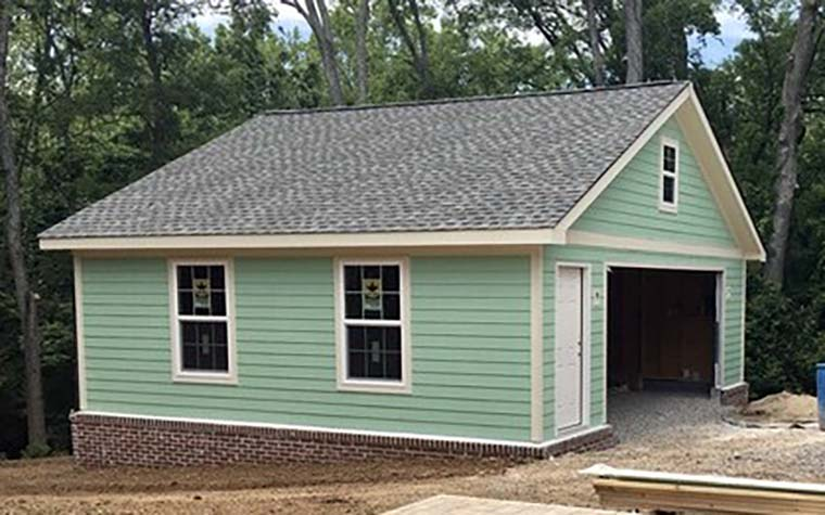 Cottage, Country, Ranch, Traditional 2 Car Garage Plan 40832 Picture 5