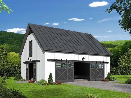 Garage Plan 40855