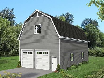 Cottage Country Elevation of Plan 40884