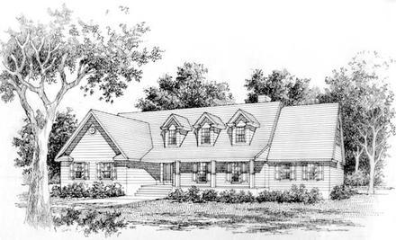 House Plan 41006