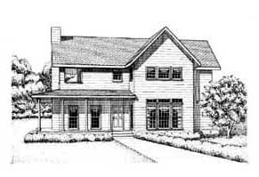 Plan Number 41015 - 1741 Square Feet