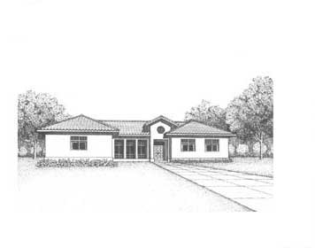 Plan Number 41016 - 3092 Square Feet