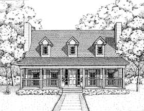 Plan Number 41022 - 1604 Square Feet