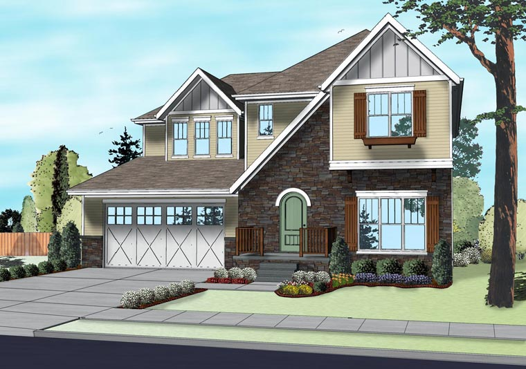 Traditional House Plan 41107 Elevation