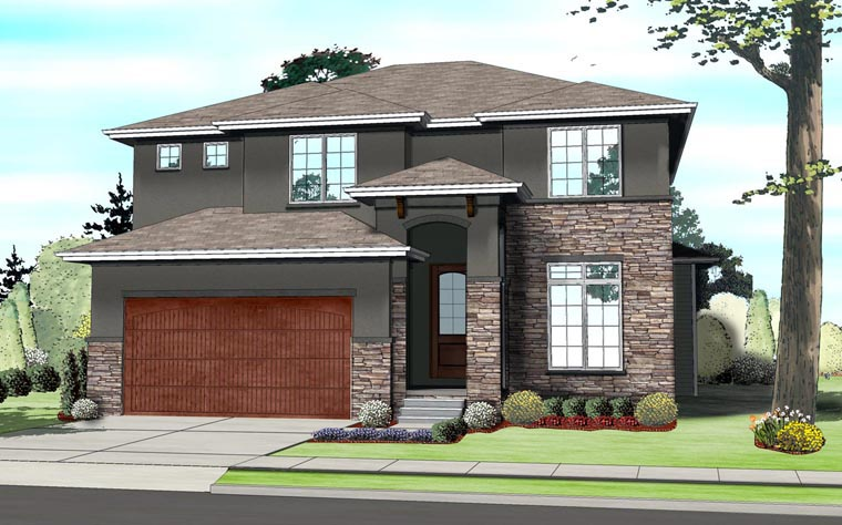 House plan 41109 at for Contemporary southwest home designs