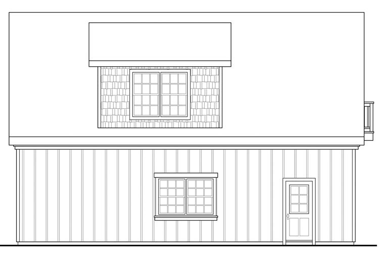 Craftsman 2 Car Garage Plan 41154 Picture 1