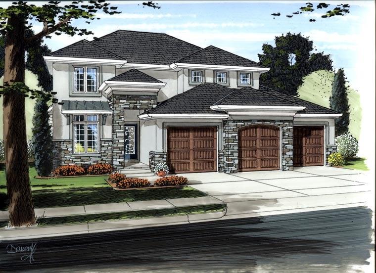 Mediterranean House Plan 41172 Elevation
