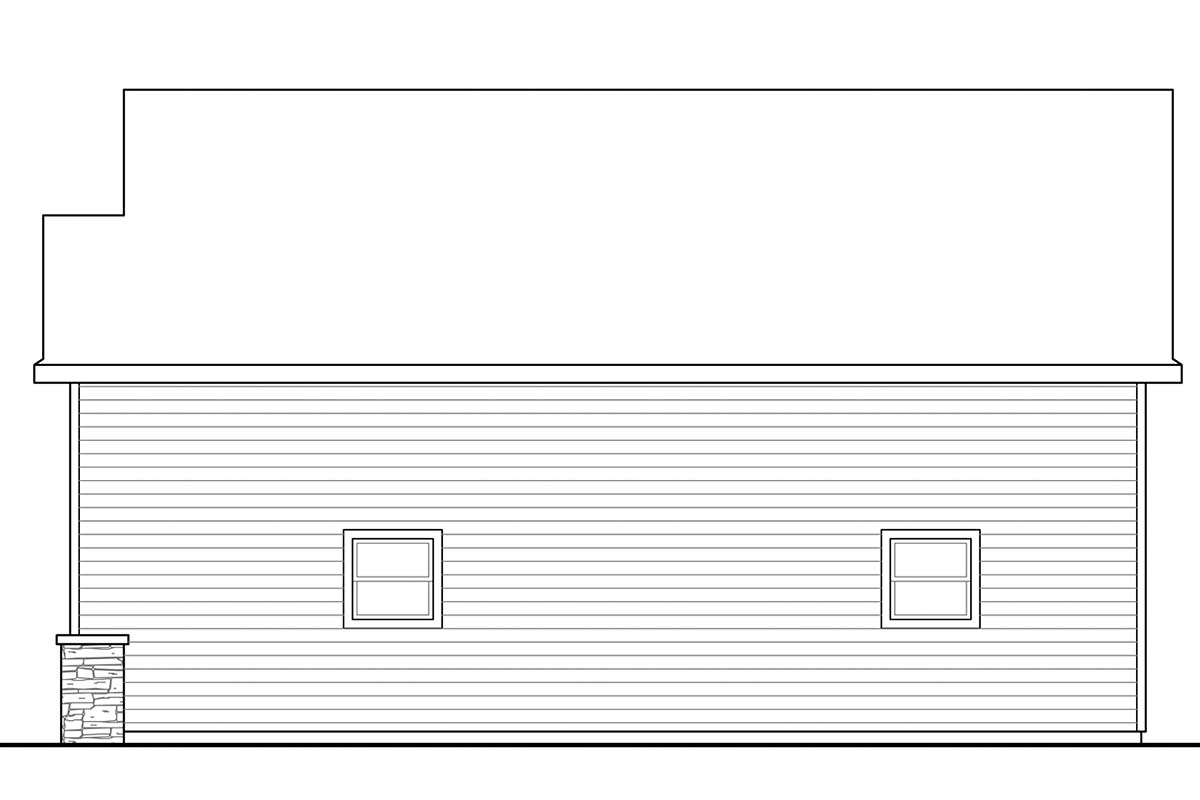 Traditional 2 Car Garage Plan 41248, RV Storage Picture 1