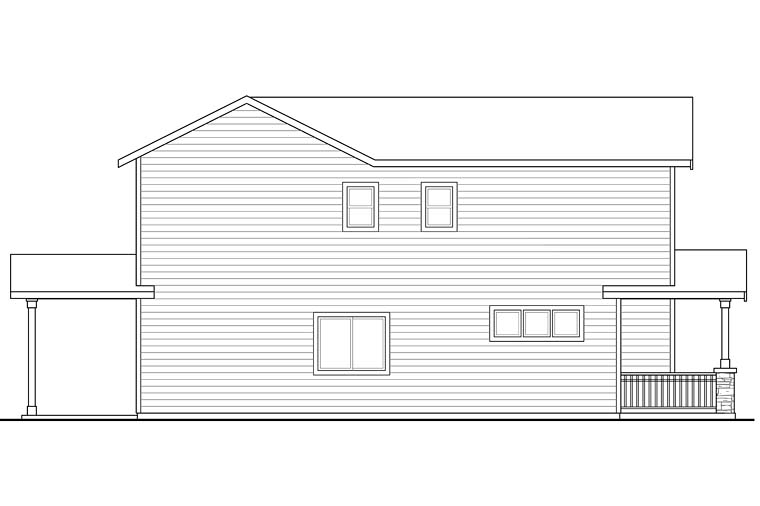 Contemporary, Country, Craftsman, Traditional Multi-Family Plan 41261 with 6 Beds, 6 Baths, 2 Car Garage Picture 1