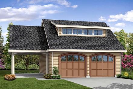 Garage Plan 41275