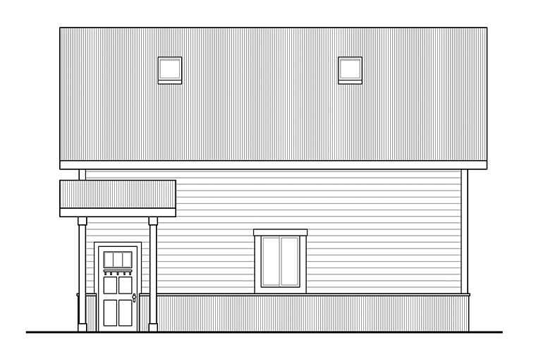 Country 2 Car Garage Apartment Plan 41294 Picture 1