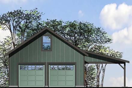 Garage Plan 41296