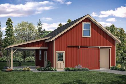 Garage Plan 41314