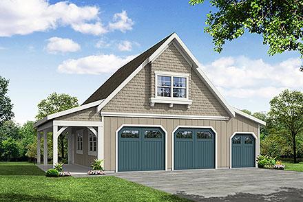 Garage Plan 41349