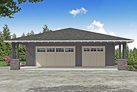 Garage Plan 41374