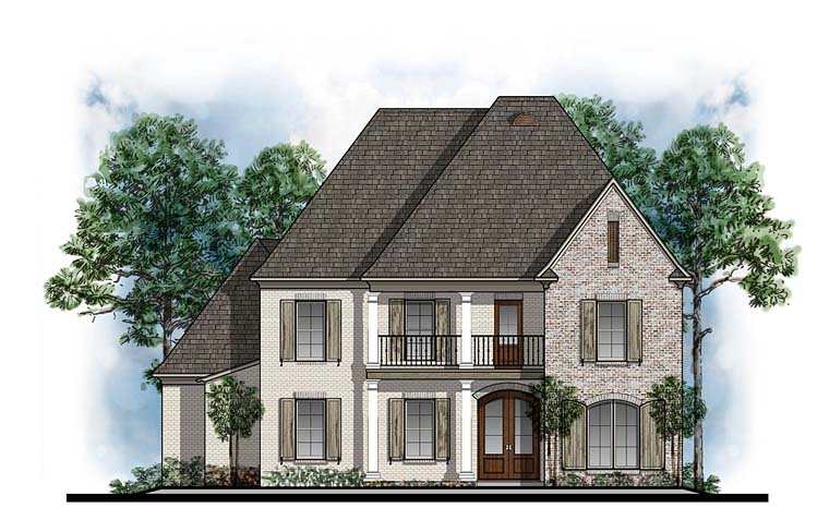 European French Country Southern House Plan 41603 Elevation