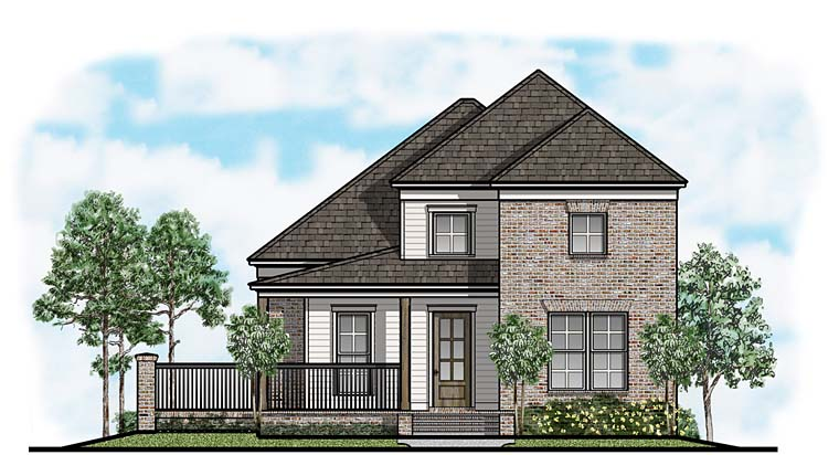 Country Farmhouse House Plan 41659 Elevation