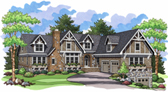 Plan Number 42002 - 6217 Square Feet