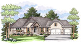 Plan Number 42023 - 3458 Square Feet