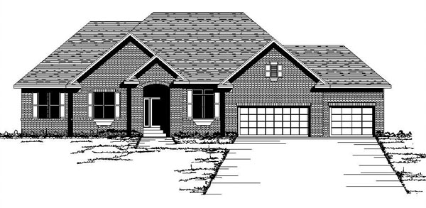 Traditional House Plan 42085