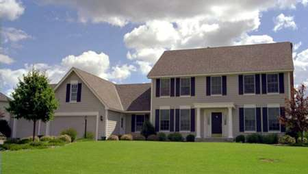 Colonial House Plan 42149 Elevation