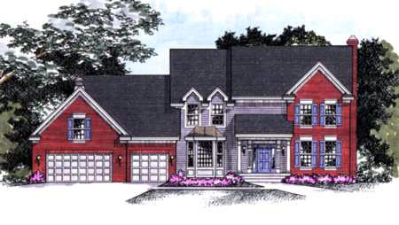 Traditional House Plan 42181 Elevation