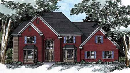 Traditional House Plan 42201 Elevation