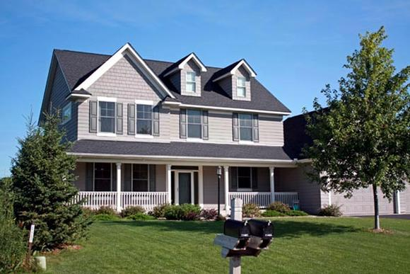 Traditional House Plan 42456 with 2 Beds, 3 Baths, 3 Car Garage Elevation