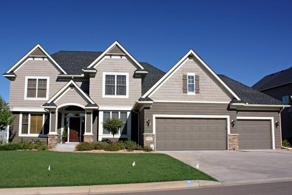 Traditional House Plan 42473 with 4 Beds, 3 Baths, 3 Car Garage Elevation