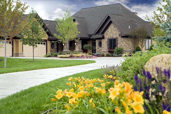 European, Traditional House Plan 42486 with 4 Beds, 4 Baths, 4 Car Garage Elevation
