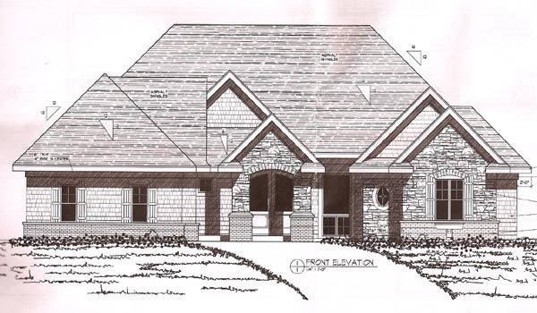 European, Traditional House Plan 42486 with 4 Beds, 4 Baths, 4 Car Garage Picture 1