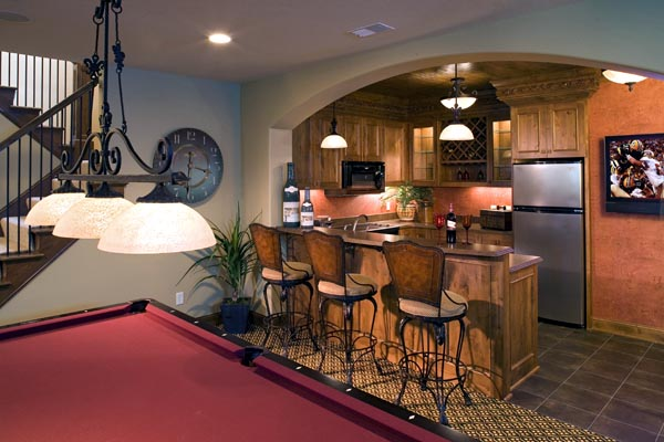 European, Traditional House Plan 42486 with 4 Beds, 4 Baths, 4 Car Garage Picture 2