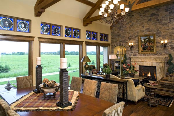 European, Traditional House Plan 42486 with 4 Beds, 4 Baths, 4 Car Garage Picture 8