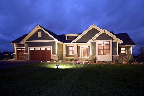 Craftsman Traditional House Plan 42505 Elevation