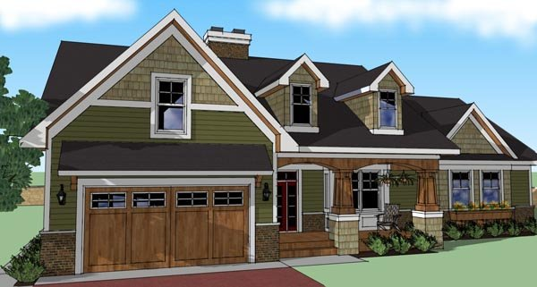 House Plan 42614 At Familyhomeplans.Com
