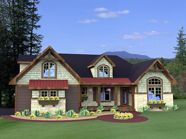 Craftsman House Plan 42615