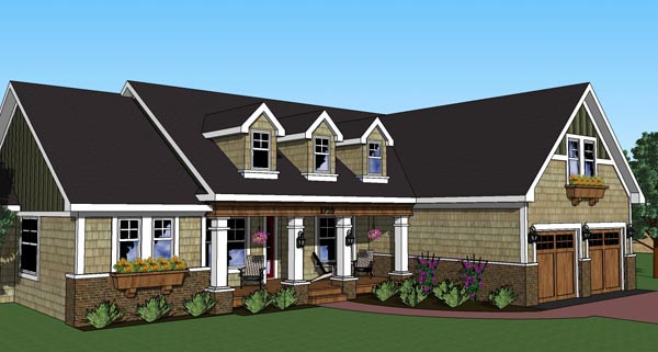 Traditional House Plan 42617 Elevation