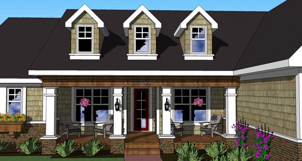 Traditional House Plan 42617