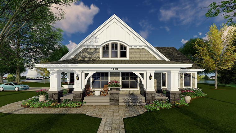 Bungalow Cottage Craftsman Traditional House Plan 42618 With 1866 Sq